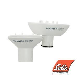 Solis(ソリス) ソフトスタイラー L ホワイト (ドライヤー I311・315専用) - 拡大画像
