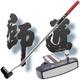 ゴルフ 衝撃のパター 『師匠』   ★競技用パター(定価18,900円)を1本無料進呈★