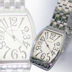 ジョルジュレッシュ 紳士 3針メタル腕時計 GR-14001-03 シャンパン - 拡大画像