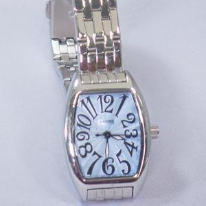 ジョルジュレッシュ 婦人 3針メタル腕時計 GR-14002-02 ライトブルー - 拡大画像
