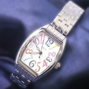 ジョルジュレッシュ 婦人 3針メタル腕時計 GR-14002-05 ホワイト(カラー) - 拡大画像