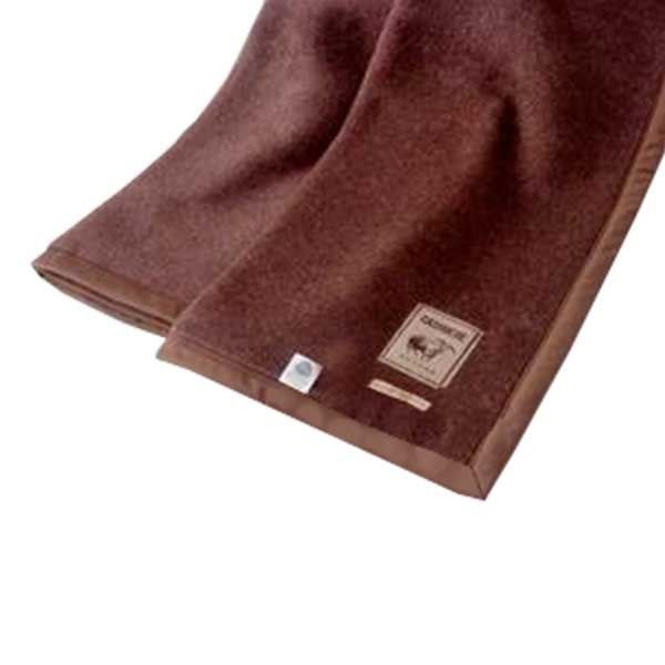 なめらかな肌ざわり カシミヤ100%毛布 日本製