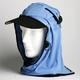 日焼け防止・UVカットする帽子、紫外線保護指数UPF50+【フリルネックU.T.E. ポリエステルマイクロメッシュ】(スカイブルー) - 縮小画像1