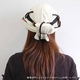 日焼け防止・UVカットする帽子、紫外線保護指数UPF50+【フリルネックU.T.E. ポリエステルマイクロメッシュ】(スカイブルー) - 縮小画像5
