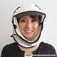 日焼け防止・UVカットする帽子、紫外線保護指数UPF50+【フリルネックU.T.E. ポリエステルマイクロメッシュ】(ライトグレー/ブラック) - 縮小画像2