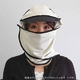 日焼け防止・UVカットする帽子、紫外線保護指数UPF50+【フリルネックU.T.E. ポリエステルマイクロメッシュ】(ライトグレー/ブラック) - 縮小画像4