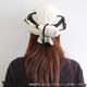 日焼け防止・UVカットする帽子、紫外線保護指数UPF50+【フリルネックU.T.E. ポリエステルマイクロメッシュ】(ライトグレー/ブラック) - 縮小画像5