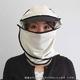 日焼け防止・UVカットする帽子、紫外線保護指数UPF50+【フリルネックU.T.E. ポリエステルマイクロメッシュ】(ボーン) - 縮小画像4