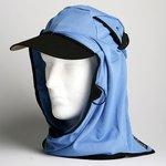 日焼け防止・UVカットする帽子、紫外線保護指数UPF50+【UPF50+ポリエステルマイクロメッシュ新モデル スカイブルー】