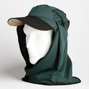 日焼け防止・UVカットする帽子、紫外線保護指数UPF50+【UPF50+ポリエステルマイクロメッシュ新モデル ボトルグリーン】 - 拡大画像