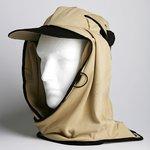 日焼け防止・UVカットする帽子、紫外線保護指数UPF50+【UPF50+ポリエステルマイクロメッシュ新モデル サンド】