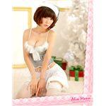 【クリスマスコスプレ】ふわふわファーが可愛いいサンタ4点set/f065