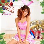 【クリスマスコスプレ 衣装】サンタクロースセット s017