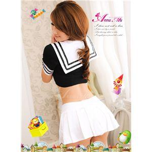 コスプレ 胸元セクシーミニスカセーラー服3点セット z449-2
