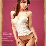 コスプレ セクシーランジェリー☆花柄刺繍Tバック3枚セット z633