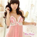 Alio Moon コスプレ 胸元フリルベビードール&Tバック f365
