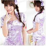 コスプレ 紫の可愛いチャイナドレス C383
