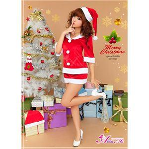 コスプレ 2012年新作 クリスマス☆サンタクロース セット/コスチューム/s020 - 拡大画像