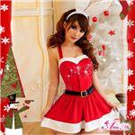 【訳あり・在庫処分】【クリスマスコスプレ 衣装】サンタクロース セット/コスチューム/s007