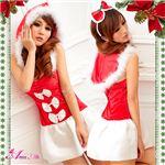 【クリスマスコスプレ 衣装】サンタクロース セット/コスチューム/s016