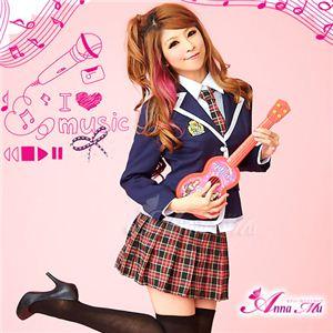 コスプレ 2012年新作 紺ブレザーのキュート女子高生制服 コスチューム/z907/衣装