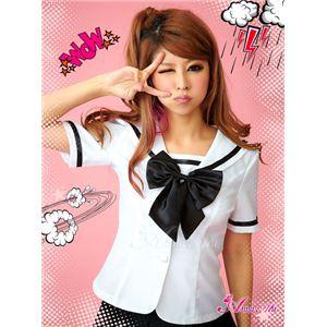 コスプレ 2012年新作 モノトーンセーラー服/女子高生制服 コスチューム/z910/衣装 の画像