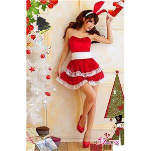 【クリスマスコスプレ】サンタクロースコスプレセット/コスチューム/s006
