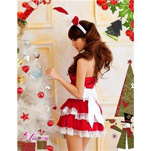 【クリスマスコスプレ】サンタクロースコスプレセット/コスチューム/s006の写真4