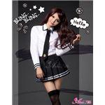【訳あり・在庫処分】セーラー服 制服 女子高生 長袖 白 黒 z1166 コスプレ 衣装 コスチューム