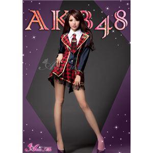 コスプレ コスチューム セーラー服 AKB48 衣装 制服 z1177 - 拡大画像