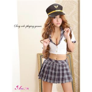 コスプレ ハロウィン コスチューム ポリス 警察 z1224 警官 制服 仮装 の画像