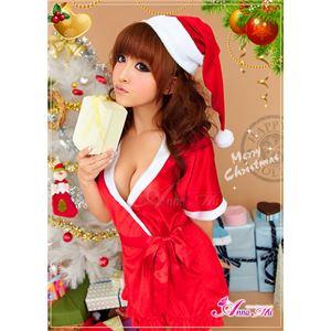 【クリスマスコスプレ】サンタクロースコスプレセット/コスチューム/s021
