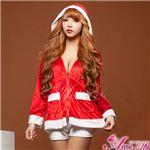 【クリスマスコスプレ 衣装】サンタクロースコスプレセット/コスチューム/s024