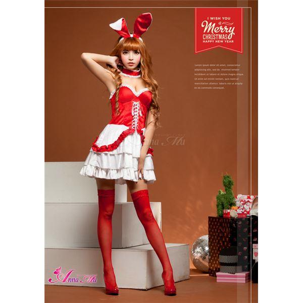 【クリスマスコスプレ】サンタクロースコスプレセット/コスチューム/s026