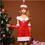 【クリスマスコスプレ】サンタクロースコスプレセット/コスチューム/s027
