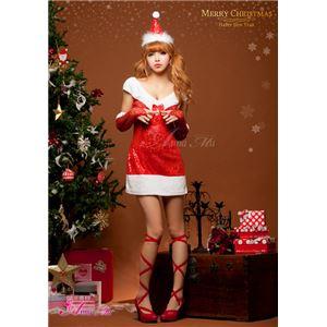 【クリスマスコスプレ】サンタクロースコスプレセット/コスチューム/s027の写真4