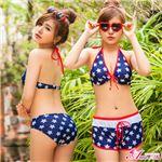 水着☆ビキニ/タンキニ/オールインワン/サロペット/ラッシュガード/bkn-094