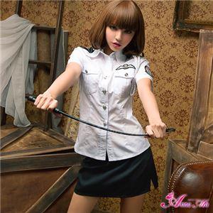 z1333 ポリス 婦人警官 コスプレ衣装 通販 - 拡大画像