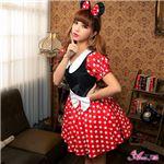 z1352 ミニーちゃん風 ディズニー Disney コスプレ衣装 通販の写真