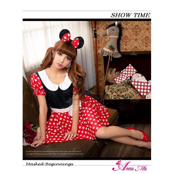 z1352 ミニーちゃん風 ディズニー Disney コスプレ衣装 通販