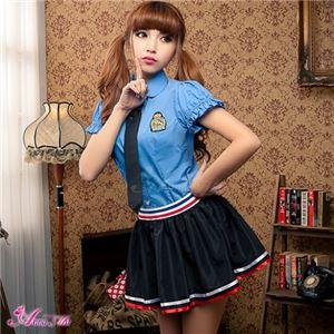 z1353 女子高生 制服 セーラー服 ブレザー コスプレ衣装 通販 - 拡大画像