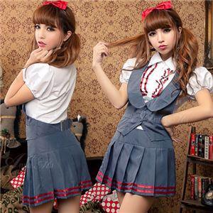 z1362 女子高生 制服 セーラー服 ブレザー コスプレ衣装 通販 - 拡大画像