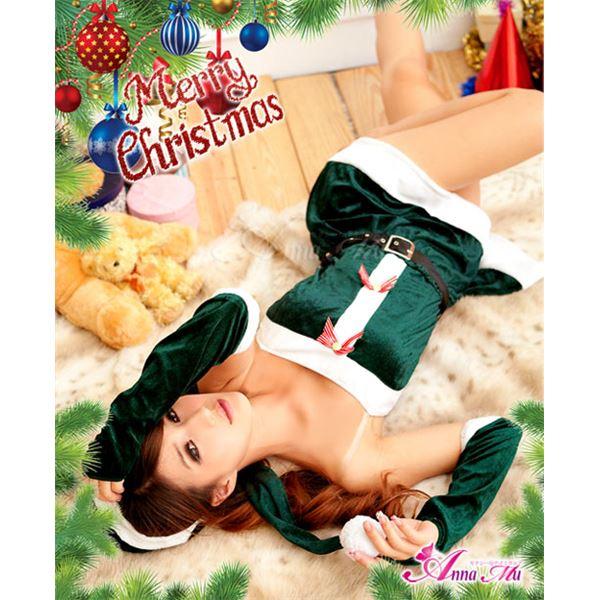クリスマス☆サンタクロースコスプレセット/コスチューム/s014