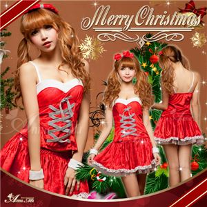 クリスマス☆サンタクロースコスプレセット/コスチューム/s022 - 拡大画像