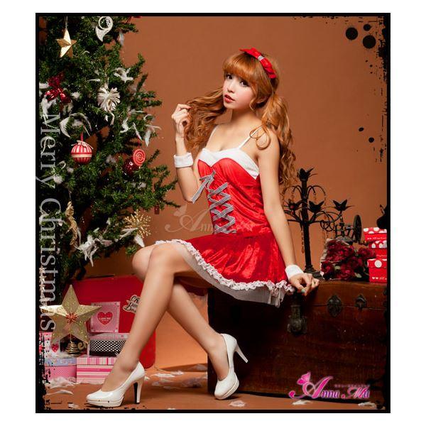サンタガールコスチューム  クリスマス☆サンタクロースコスプレセット/コスチューム/s022