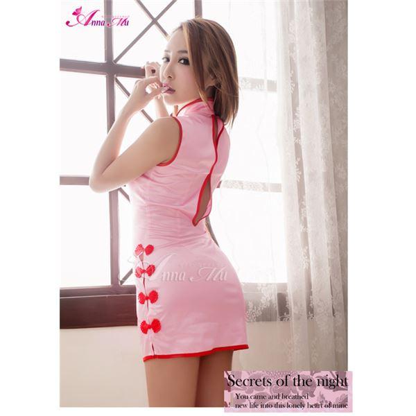 ピンク セクシーチャイナドレス z1576
