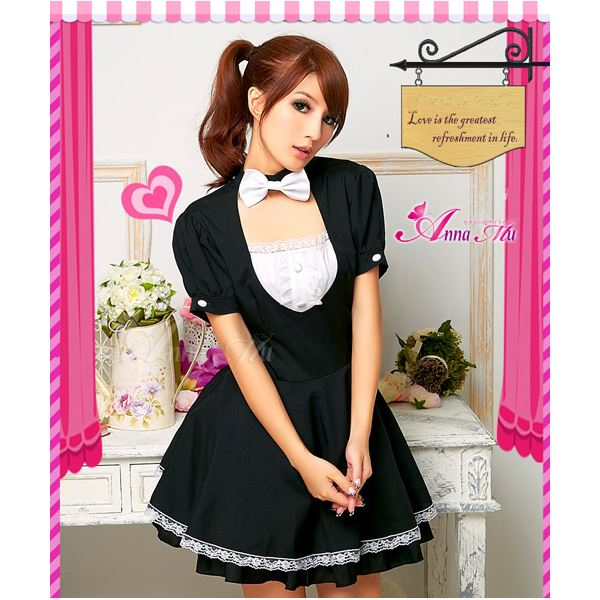 メイド服セクシーコスプレ衣装 z668 黒