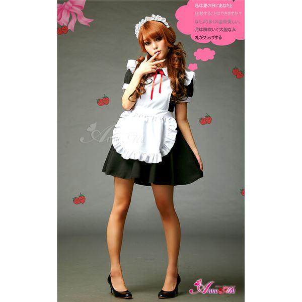 黒メイド服コスプレz680
