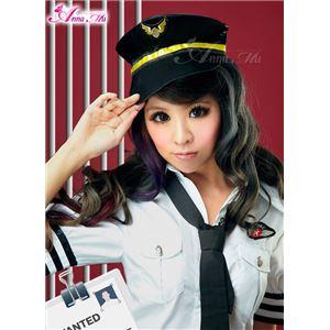 コスプレ コスチューム ポリス 警察 婦警 制服 帽子単品 z913 ポリス - 拡大画像