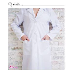 コスプレ コスチューム ナース ナース服 看護婦 衣装 制服 医者 女医 白衣 ミニワンピ 前開き 白コスチューム コス z1710 衣装 の画像